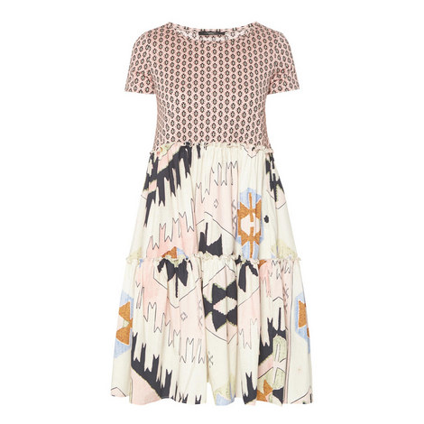 Redy Printed Dress, ${color}