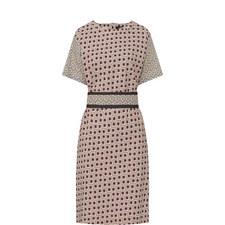 Reflex Square Pattern Dress