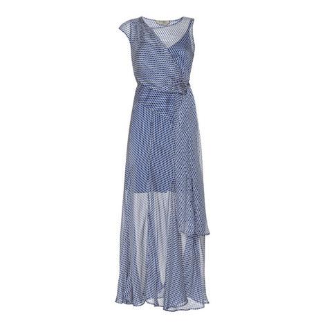 Rito Diamond Print Dress, ${color}