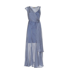 Rito Diamond Print Dress