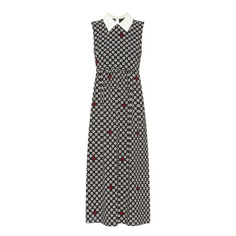 Rosalia Collared Midi Dress, ${color}