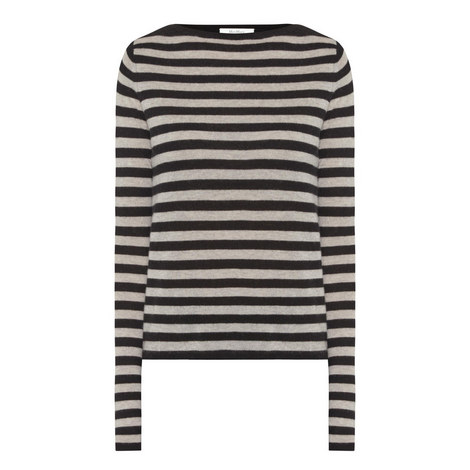 Savina Striped Sweater, ${color}