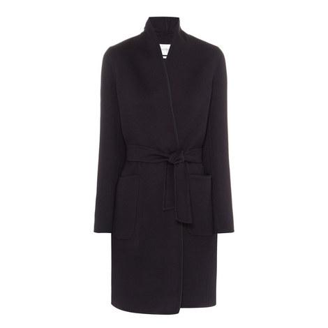 Saul Wool Wrap Coat, ${color}
