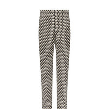 Selva Patterned Cigarette Trousers
