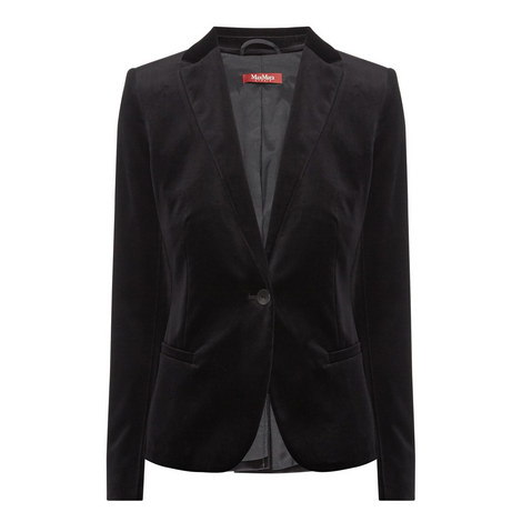Sem Velvet Jacket, ${color}