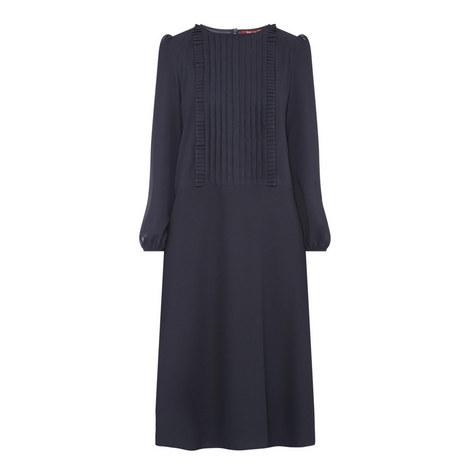 Serafin Pleated Dress, ${color}