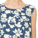 Nettuno Floral Print Top, ${color}
