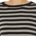 Sevres Stripe Cashmere Sweater, ${color}