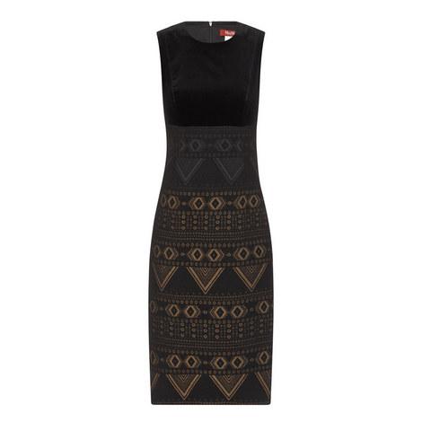 Siena Patterned Dress, ${color}