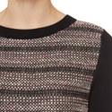 Sila Metallic Knit Sweater, ${color}