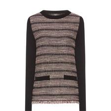 Sila Metallic Knit Sweater