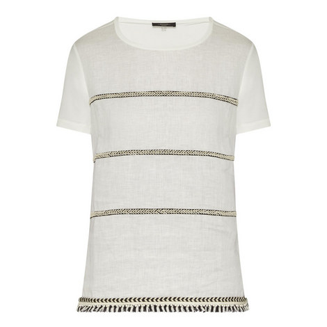 Silla Stripe Detail T-Shirt , ${color}