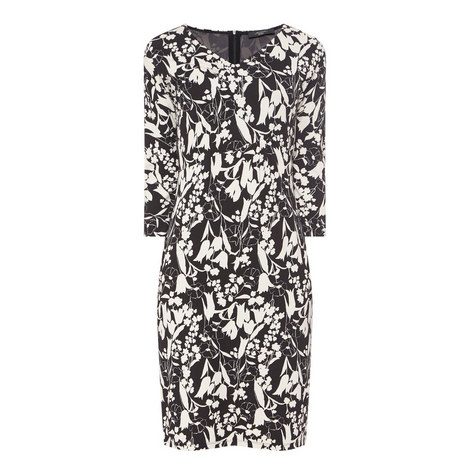 Siri Floral Print Pencil Dress, ${color}