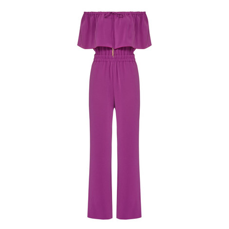 Sofocle Off-Shoulder Jumpsuit, ${color}