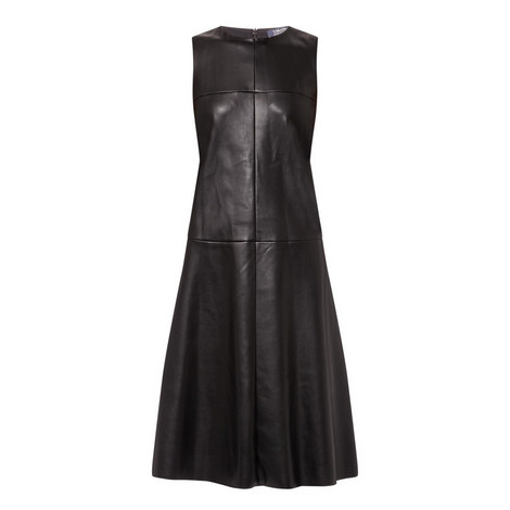 Song Leather Dress, ${color}