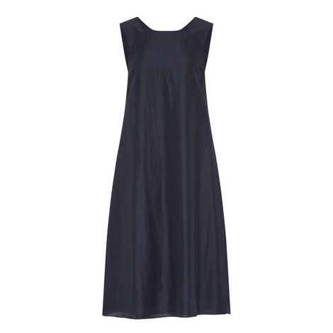Spuma Relaxed Large Pleat Dress, ${color}