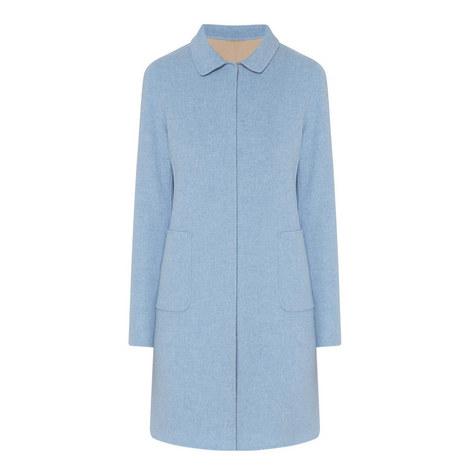 Stecca Reversible Wool Coat, ${color}