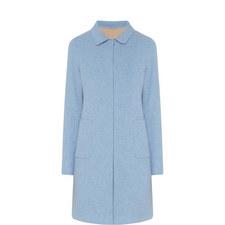 Stecca Reversible Wool Coat