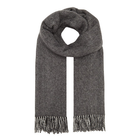 Svago Reversible Wool Mix Scarf, ${color}
