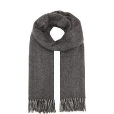 Svago Reversible Wool Mix Scarf