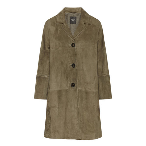 Tebano Suede Coat, ${color}