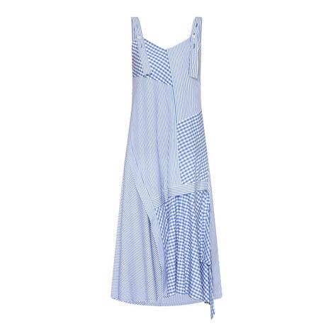 Asymmetric Hemline Pinafore Dress, ${color}