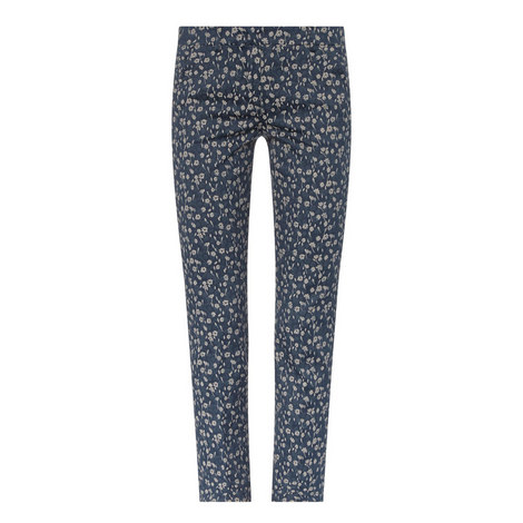 Taro Floral Patterned Trousers, ${color}