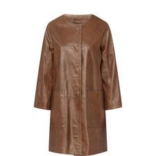 Taverna Faux Leather Coat