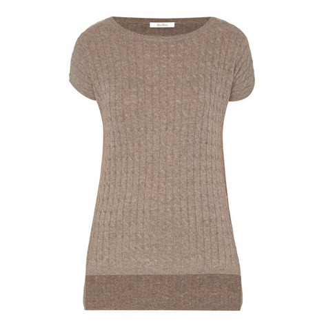 Tazzina Cable Knit Top, ${color}