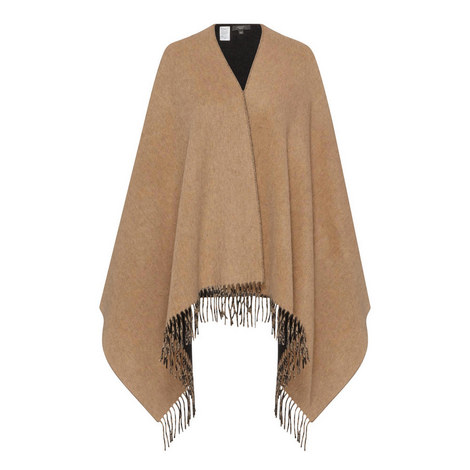 Tecnico Knitted Poncho, ${color}