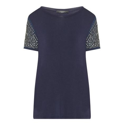 Teti Sequin Sleeve T-Shirt, ${color}