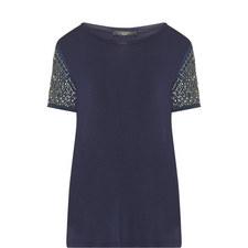Teti Sequin Sleeve T-Shirt