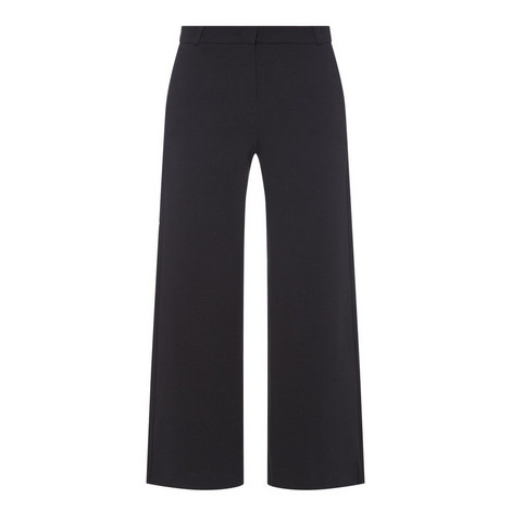Tiberio Ribbed Knitted Trousers, ${color}