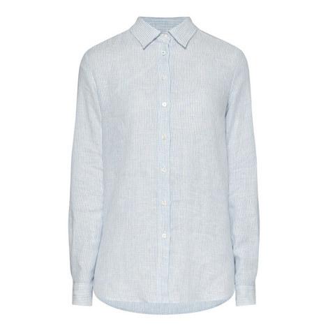 Tisbe Stripe Print Shirt, ${color}