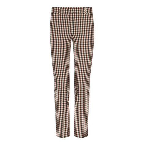 Trionfo Cropped Cigarette Trousers, ${color}