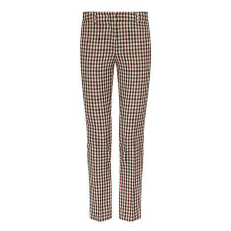 Trionfo Cropped Cigarette Trousers, ${color}