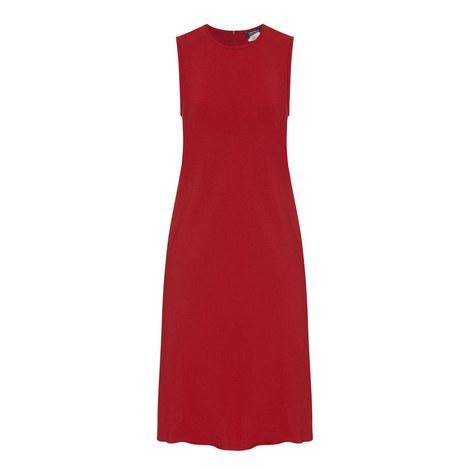 Tuc Sleeveless Dress, ${color}