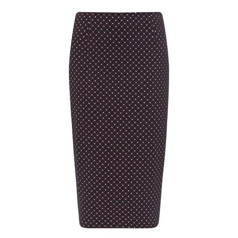 Turbigo Knitted Pencil Skirt, ${color}