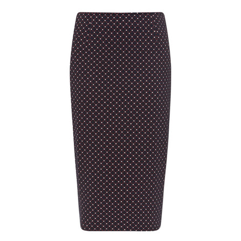 Turbigo Knitted Pencil Skirt, ${color}