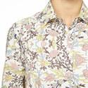 Ugola Moroccan Print Shirt Dress, ${color}