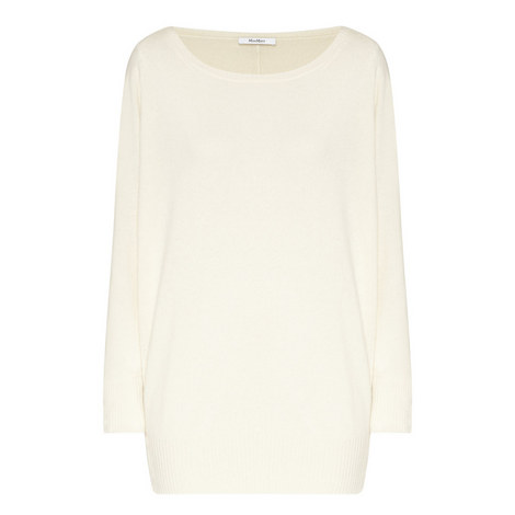 Unito Relaxed Fit Cashmere Sweater, ${color}