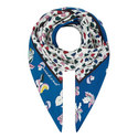 Uvina Heart Print Scarf, ${color}