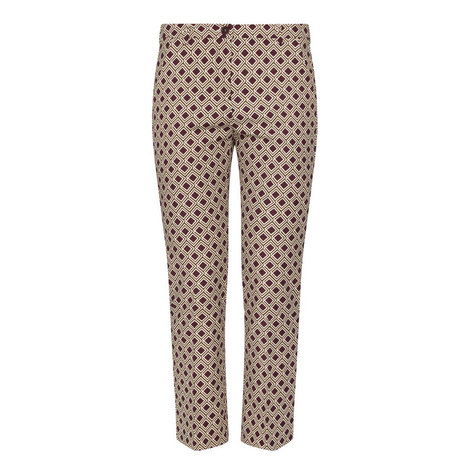 Vadet Geometric Trousers, ${color}