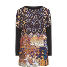 Vaso Patterned Front Top