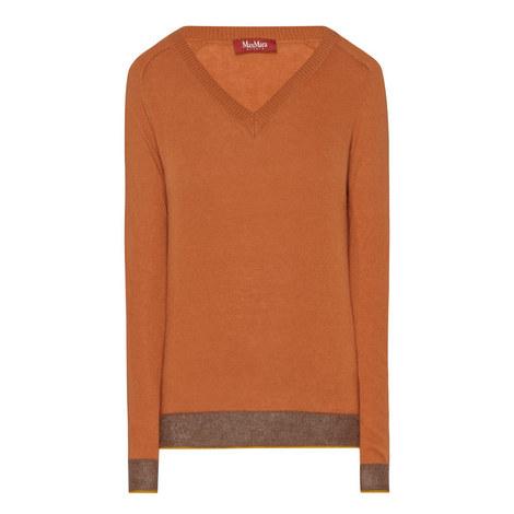 Venosa V-Neck Sweater, ${color}