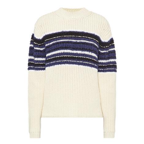 Vernice Striped Sweater, ${color}