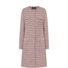 Vicario Tweed Coat