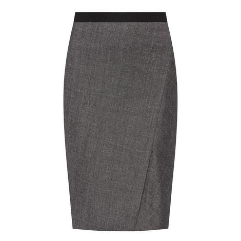 Vik Tweed Pencil Skirt, ${color}