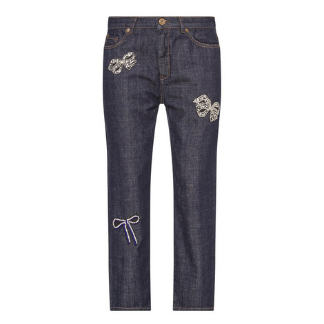 Visby Jewel Bow Jeans, ${color}