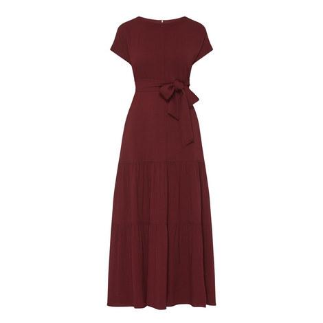Vischio Tiered Dress, ${color}